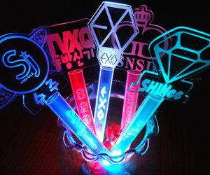lightsticks and smtown image