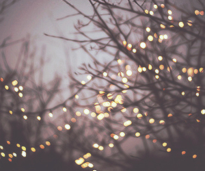 happy, lights, and tumblr image
