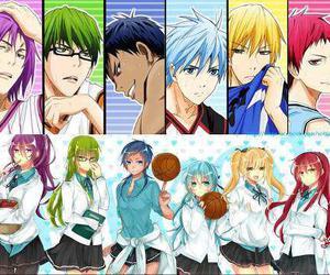genderbend, kuroko no basuke, and kise ryota image
