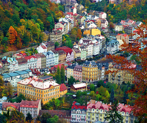 czech republic, colorful, and karlovy vary image