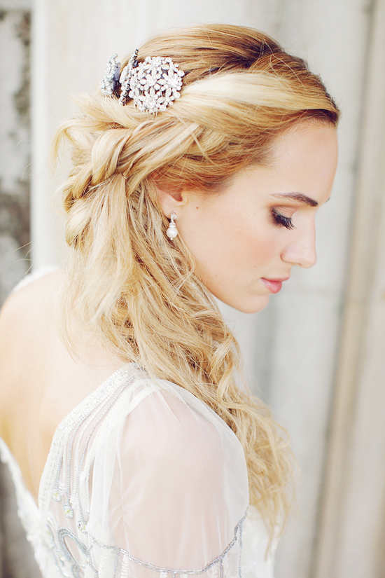 58 Images About Wedding Hairstyle On We Heart It See More About