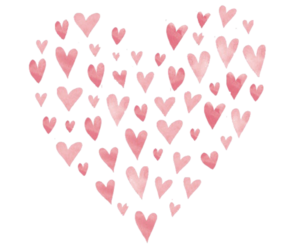 heart, love, and hearts image