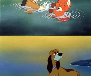 copper, friendship, and tod image
