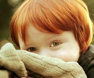 kid and redhead image