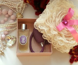 baubles, bow, and box image