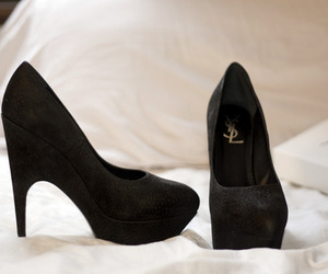 shoes, YSL, and fashion image