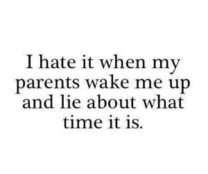 quote, text, and parents image