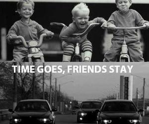 friends, car, and boy image