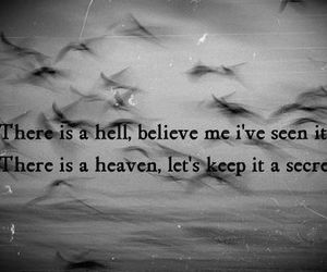 quote, angel, and bird image