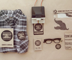 hipster and glasses image