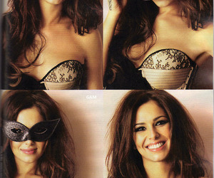 cheryl cole, mask, and pretty image