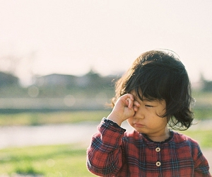 asian, cute, and kid image