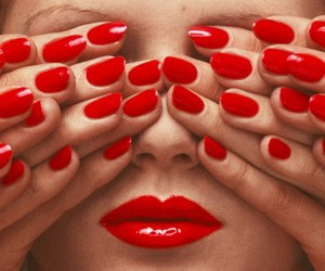 chic, red, and sex image