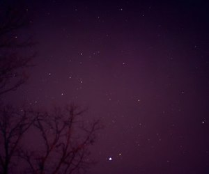 purple, sky, and stars image