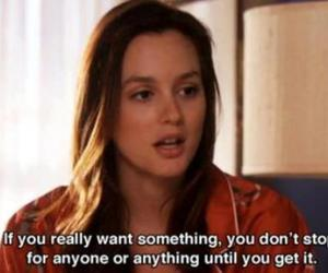 gossip girl, blair, and quote image