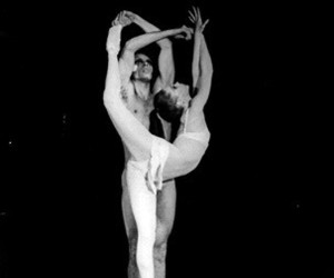 black and white, dancer, and suzanne farrell image