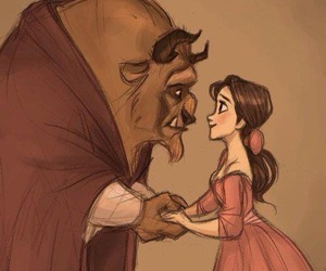 disney, beauty and the beast, and beast image