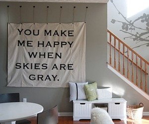 you make me happy and when skies are grey image