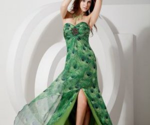 dress, prom dress, and plus size prom dress image