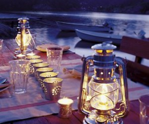 candle, light, and boat image
