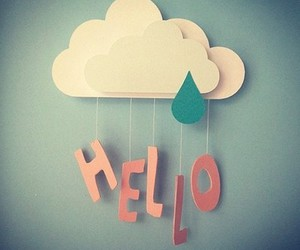 hello and cute image