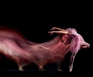 dance, pink, and ballet image