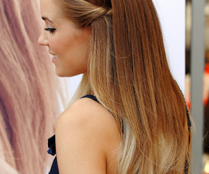 back, blonde, and fashionable image