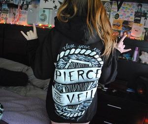 pierce the veil, girl, and band image