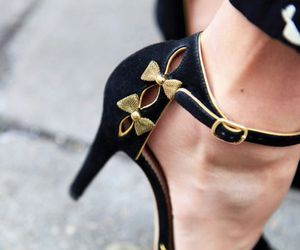 bows, shoes, and heels image