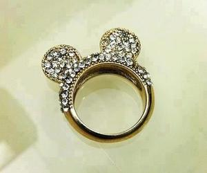 disney, rings, and mickey mouse image