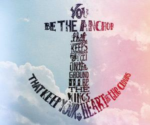 anchor, quote, and heart image