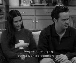 friends, doritos, and Joey image
