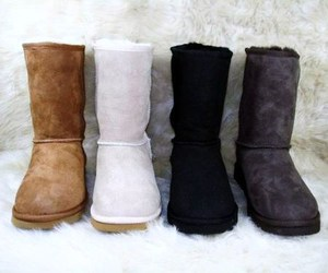 ugg, boots, and black image
