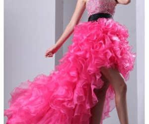 sexy prom dress, plus size prom dress, and girl's fashion image