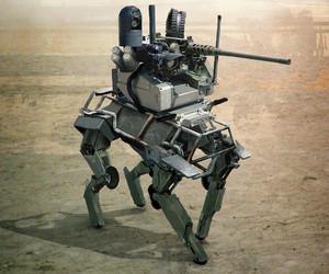 photography, tachikoma, and robot image