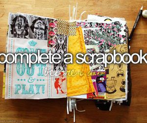 scrapbook, before i die, and bucket list image
