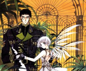 clamp, clover, and anime image