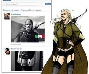Legolas, funny, and lol image