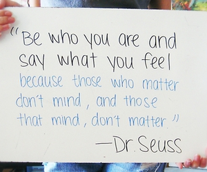 quote, dr seuss, and Dr. Seuss image