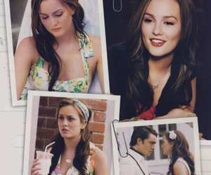 beautiful, blair, and leighton meester image