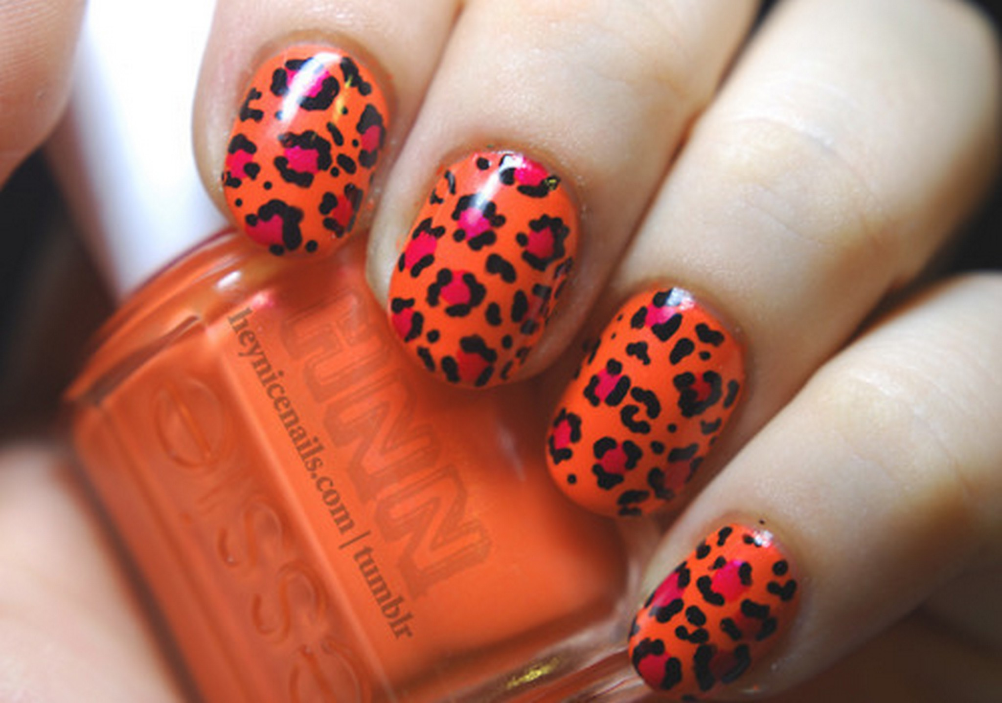 Nail Art Panter discovered by Girls Fashion ♥ ™