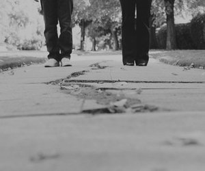 black and white, photography, and engagement image