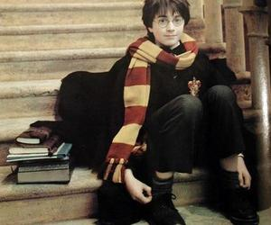 harry potter, daniel radcliffe, and gryffindor image
