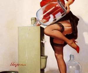 Pin Up, sexy, and vintage image