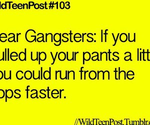 cops, gangsters, and lol image