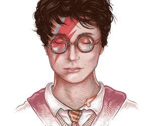 harry potter and david bowie image