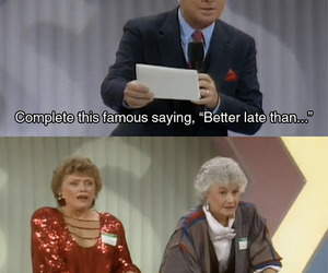 funny, golden girls, and pregnant image