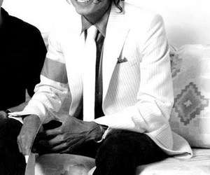 gorgeous, smile, and michael image