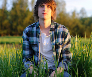 boy, guy, and grass image
