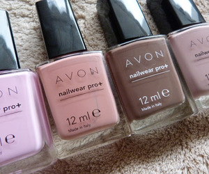 avon nail polish and neutral nail polish image